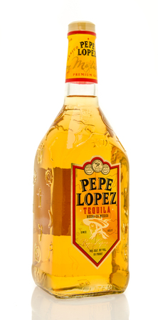 pepe: Winneconne, WI - 19 March 2016:  A bottle of Pepe Lopez tequila Editorial