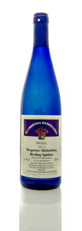 riesling: Winneconne, WI - 16 March 2016:  A bottle of St, Christina Weinkellerei wine in Piesporter Michelsberg Riesling flavor. Editorial