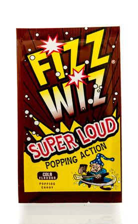 fizz: Winneconnie, WI - 18 July 2016:  Package of Fizz Wiz on an isolated background.