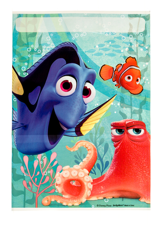 Winneconne, WI -29 January 2017:   Finding Dory loot bag on an isolated background. 版權商用圖片 - 71948252