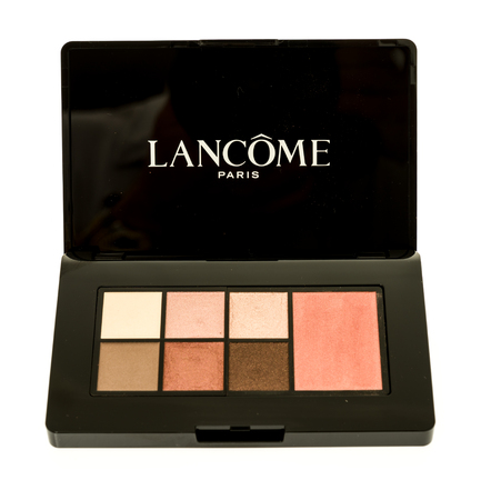 Winneconne, WI - 28 October 2017:  Lancome eyeshadow on an isolated background. Editorial