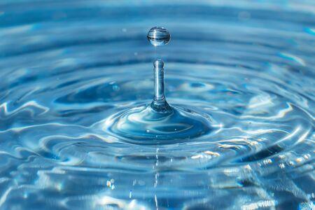Wassertropfen Standard-Bild