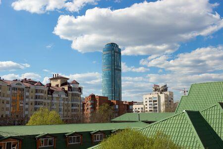 Ekaterinburg. View Vysotsky