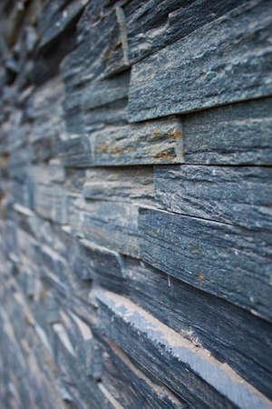 Bluestone brick wall