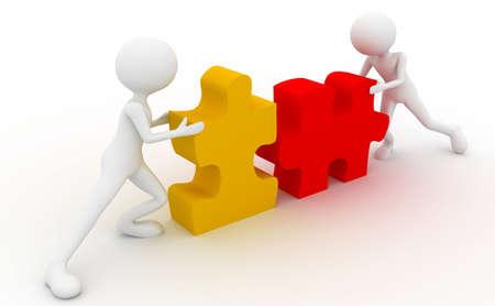 Puzzle cooperation