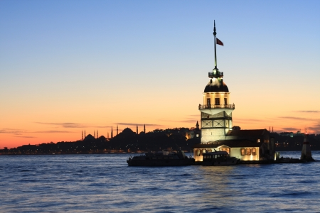 The Maiden s Tower in Istanbul