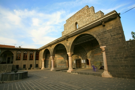 the jacobite: The Orthodox Syrian  Jacobite  church of the Virgin Mary  Meryem Ana Kilisesi Diyarbakir,Turkey