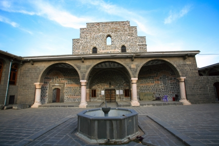 The Orthodox Syrian  Jacobite  church of the Virgin Mary  Meryem Ana Kilisesi Diyarbakir,Turkey