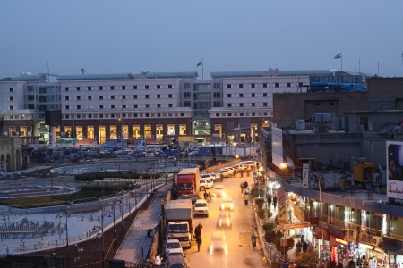 Arbil City in kurdistan,Iraq