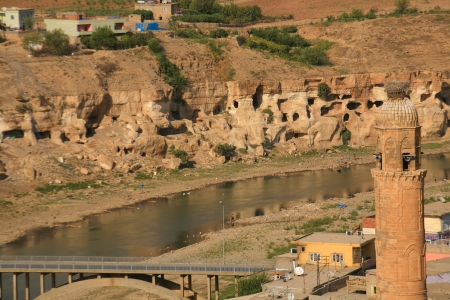Hasankeyf in Batman, Turkey Stock Photo - 16628677