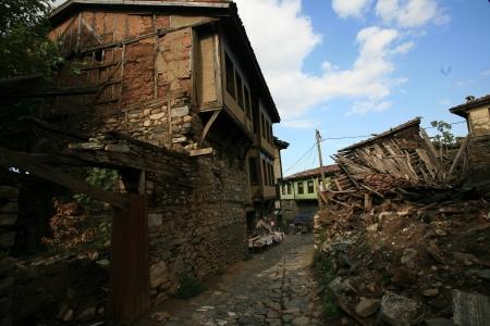 turkiye: Rural scene from Cumalikizik Bursa Turkiye Stock Photo
