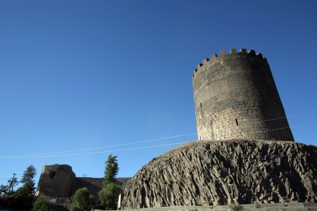 Diyarbakir Castle in Turkey  Editorial