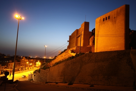 Arbil Castle in Kurdistan,Iraq