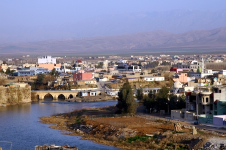 Zakho City in Kurdistan,Iraq