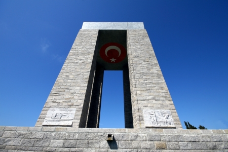 Canakkale Monument Editorial