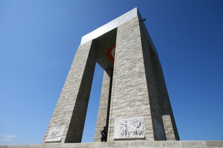 troya: Canakkale Monument in Turkey