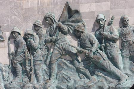 anzac: Canakkale Monument in Turkey