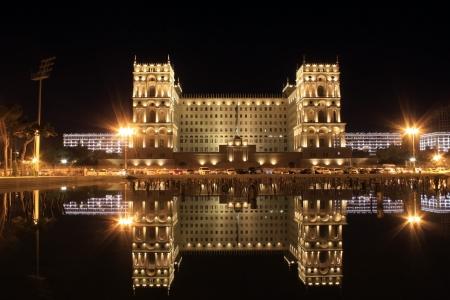 baku: Old Government House in Baku,Azarbaijan