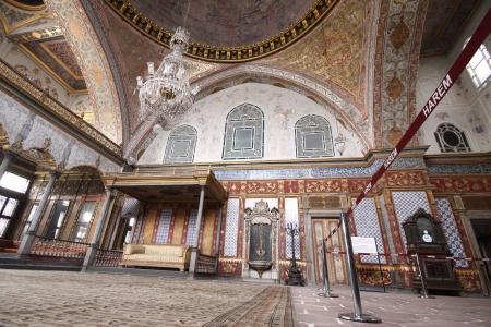 topkapi: Harem at the Topkapi Palace,Istanbul, Turkey