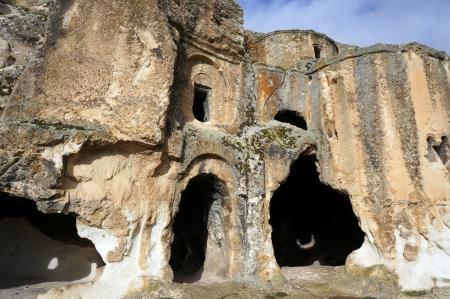 phrygian: Cave-church byzantine of  Metropolis , rock settlement near Ayazini in the Phrygian valley, Turkey