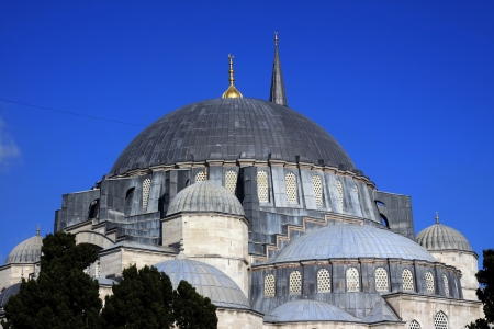 The beautiful Suleymaniye Mosque Istanbul, Turkey  Stock Photo - 17183438