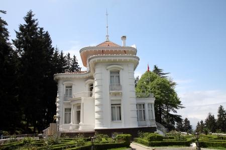 ataturk: Ataturk kiosk, former Kapagiannidis summer residence, Trabzon, Black Sea, Turkey Editorial