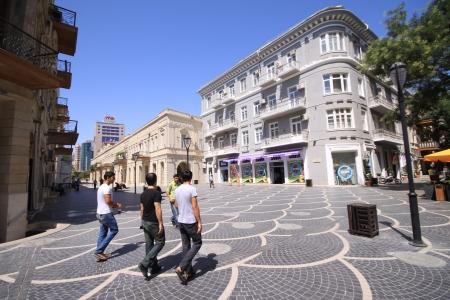 Baku s old city center Editorial