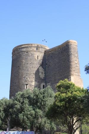 baku: Maidens Tower in Baku, Azerbaijan