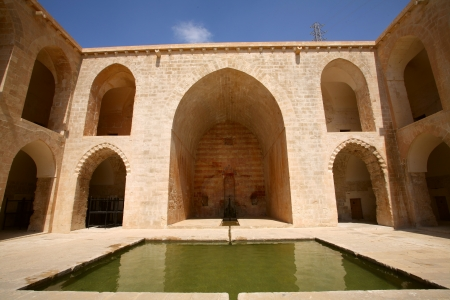 mesopotamian: Kasimiya Medresah 15th Century, Mardin, Turkey Editorial