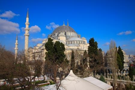 Suleymaniye Mosque in Istanbul photo