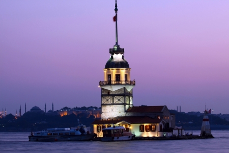 Maiden Tower in Istanbul,Turkey   photo