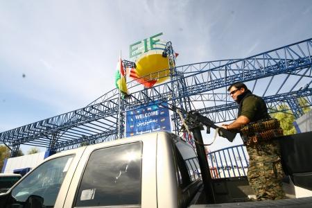 checkpoint: Kurdish military in checkpoint,Arbil,Kurdistan,Iraq