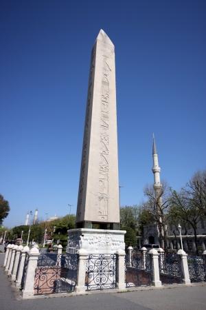Obelisk at hippodrome in Istanbul - Turke Stock Photo - 17511073