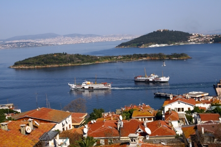 Princess Islands in Turkey Stock Photo