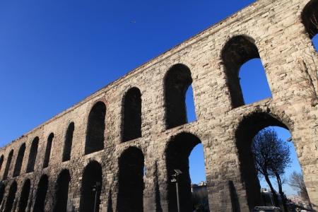 Valens Aqueduct  Bozdogan Kemeri  In Istanbul, Turkey