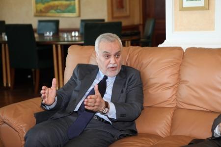 iraqi: ISTANBUL,TURKEY-MAY 3, 2013 : Iraqi Vice President Tariq al-Hashimi visited Turkey.