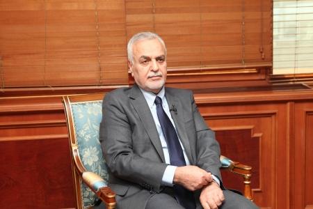 tyrant: ISTANBUL,TURKEY-MAY 3, 2013 : Iraqi Vice President Tariq al-Hashimi visited Turkey.