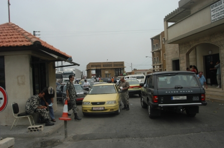 border patrol: TARTOUS, SYRIA-JULY 17   Civilians fleeing the war, Syria and Lebanon border on July 17, 2006 in Tartous,Syria                                  Editorial