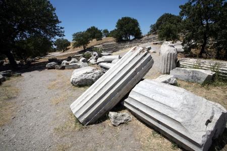 troy: Troy archaeological site, Turkey Stock Photo