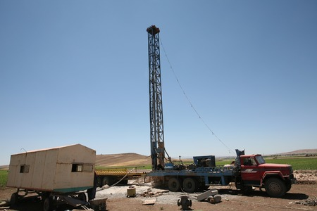 Drilling for geothermal power system in Turkey  photo