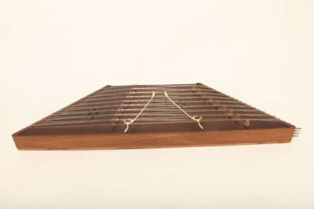 Santur is an Iranian hammered dulcimer photo