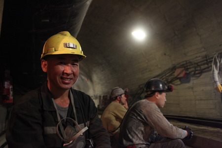 employed: Chinese mine workers employed in turkey