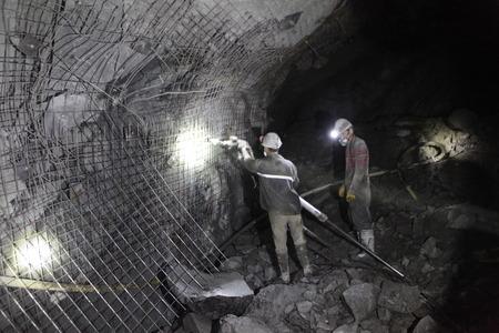 Chinese mijnwerkers werkzaam in Turkije