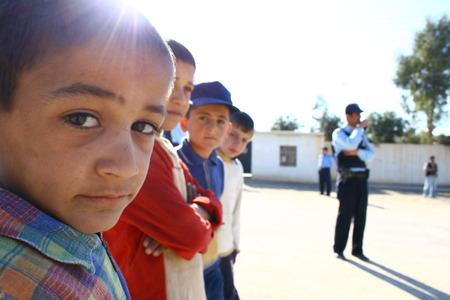 Camp de réfugiés dans le nord de l'Irak mahmur sur Janvier 26,2007.