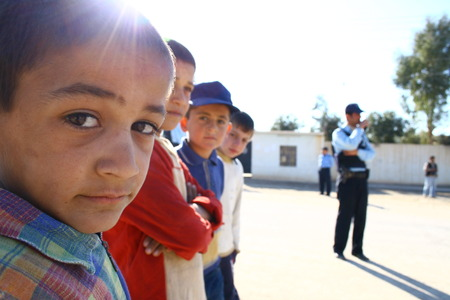war refugee: Mahmur Refugee Camp in North Iraq on January 26,2007.