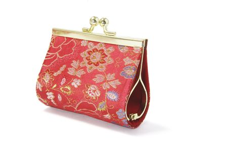 coin purse: Coin Purse on White Background