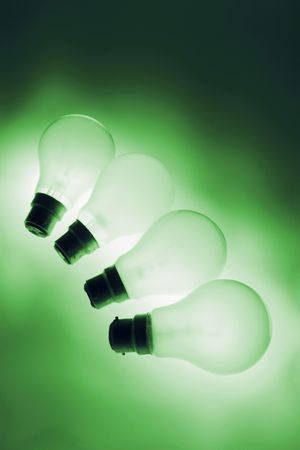 light bulbs: Bombillas de luz en tonos c�lidos