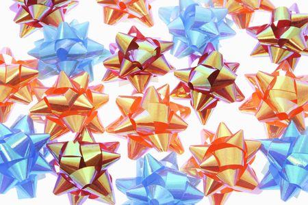 giftware: Close Up of Star Bows
