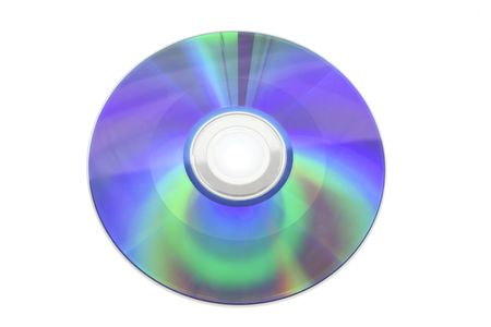 Compact Disc on Isolated White Background photo