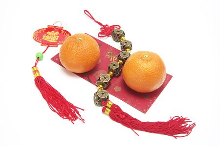 red packet: Mandarins, Red Packet and Trinkets